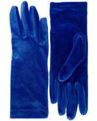 Guantes azul marino de Balenciaga