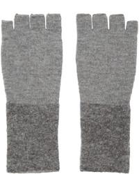 Guantes de lana grises de Rag & Bone