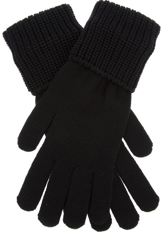 Guantes de lana negros de Givenchy