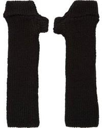Guantes de lana negros de Julius