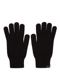 Guantes de lana negros de Ps By Paul Smith