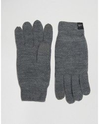 Guantes en gris oscuro de Jack and Jones