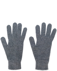 Guantes en gris oscuro de Pringle