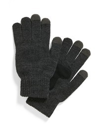 Guantes Gris Oscuro