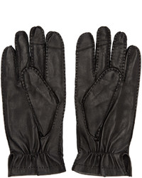 Guantes negros de Tiger of Sweden