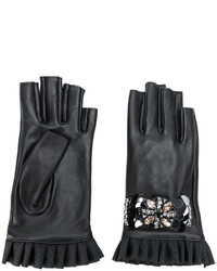 Guantes negros de Twin-Set