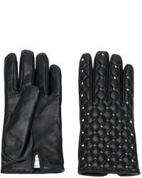 Guantes negros de Valentino Garavani