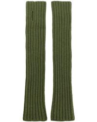 Guantes verde oliva de Balmain