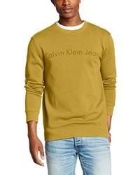 Jersey amarillo de Calvin Klein Jeans