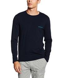 Jersey azul marino de Emporio Armani