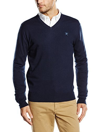 Jersey azul marino de Hackett London
