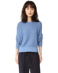 Jersey azul de Rebecca Minkoff