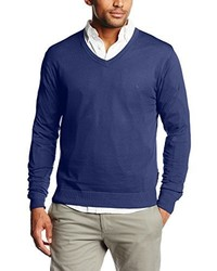 Jersey azul de Roberto Verino