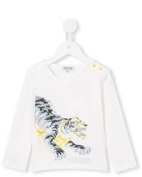 Jersey blanco de Kenzo