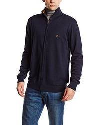 Jersey con cremallera azul marino de Selected