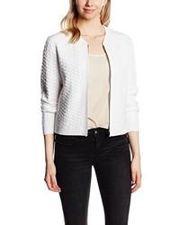 Jersey con cremallera blanco de Calvin Klein Jeans