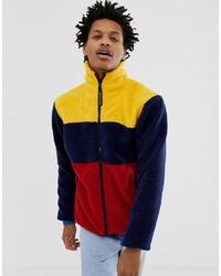 Jersey con cremallera de forro polar en multicolor de Billionaire Boys Club