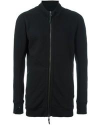 Jersey con cremallera negro de 11 By Boris Bidjan Saberi