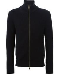 Jersey con cremallera negro de AMI Alexandre Mattiussi