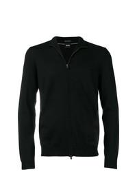 Jersey con cremallera negro de BOSS HUGO BOSS