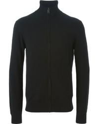 Jersey con cremallera negro de Dolce & Gabbana