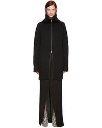 Jersey con cremallera negro de Haider Ackermann