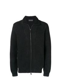 Jersey con cremallera negro de Iris von Arnim