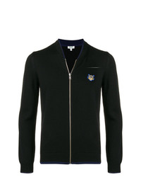 Jersey con cremallera negro de Kenzo
