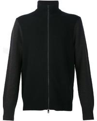 Jersey con cremallera negro de rag & bone