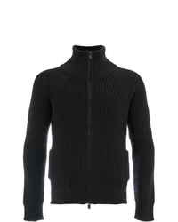 Jersey con cremallera negro de Roberto Collina
