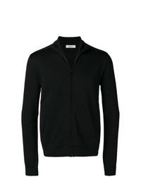 Jersey con cremallera negro de Valentino