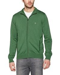 Jersey con cremallera verde de Fynch Hatton
