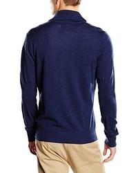 Jersey con cuello chal azul marino de Dockers
