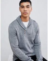 Jersey con cuello chal gris de Pier One