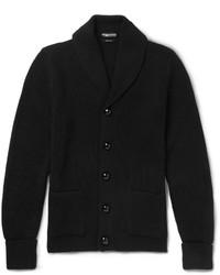 Jersey con cuello chal negro de Tom Ford