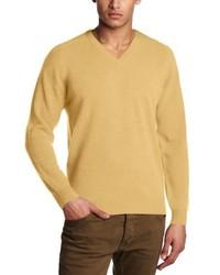 Jersey con cuello circular amarillo de Al Andalus