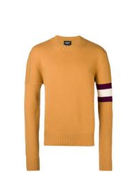 Jersey con cuello circular amarillo de Calvin Klein 205W39nyc