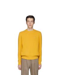 Jersey con cuello circular amarillo de Etro