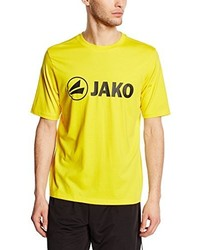 Jersey con cuello circular amarillo de Jako