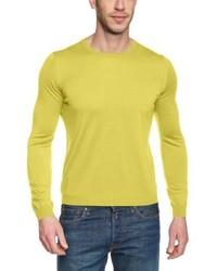 Jersey con cuello circular amarillo de Maerz