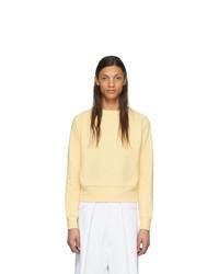 Jersey con cuello circular amarillo de Random Identities