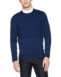 Jersey con cuello circular azul marino de Ben Sherman