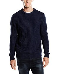 Jersey con cuello circular azul marino de Dickies