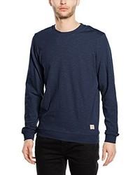 Jersey con cuello circular azul marino de JACK & JONES VINTAGE