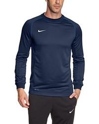 Jersey con cuello circular azul marino de Nike