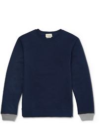 Jersey con cuello circular azul marino de Oliver Spencer