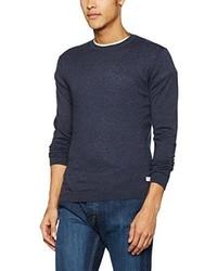 Jersey con cuello circular azul marino de ONLY & SONS