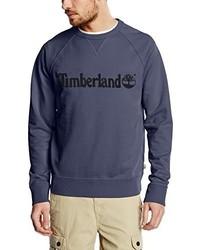 Jersey con cuello circular azul marino de Timberland