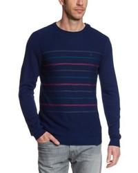 Jersey con cuello circular azul marino de Volcom