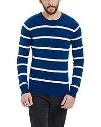 Jersey con cuello circular azul de Bench